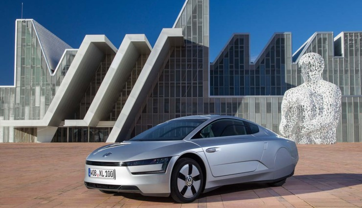 VW XL1 Plugin Hybrid Seite