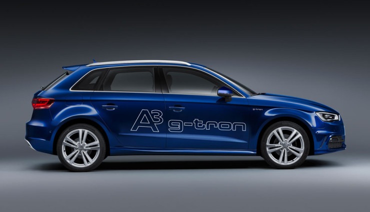 A3 Sportback g-tron Seite