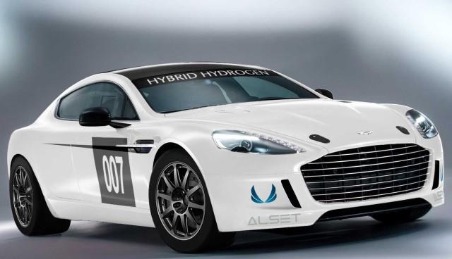 Aston Martin Rapide S Hybrid Hydrogen