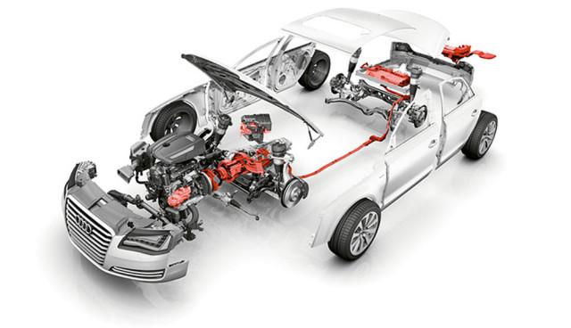 Audi 1-Liter-Hybrid