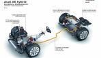 Audi A6 hybrid Hybridkomponenten