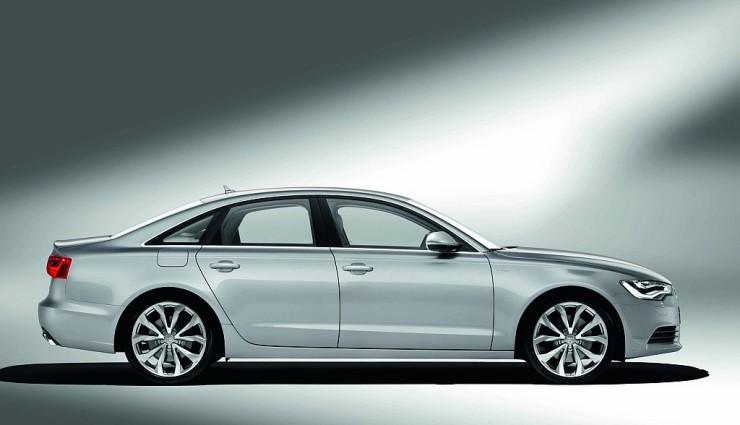 Audi A6 hybrid Seitenansicht