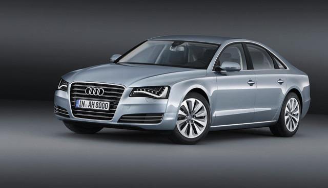 Audi A8 hybrid Front