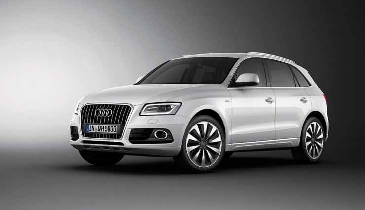 Audi Q5 hybrid Seite
