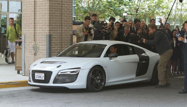 Audi R8 e-tron Iron Man 3