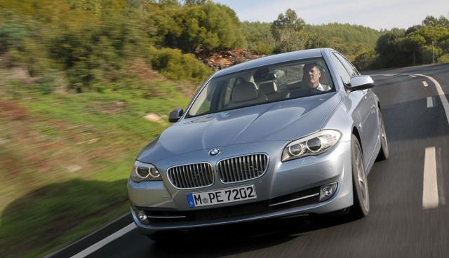 BMW ActiveHybrid 5 Front