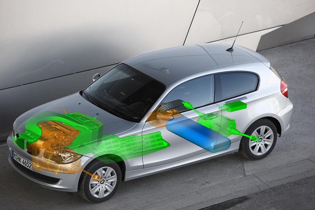 BMW Wasserstoff Elektroauto