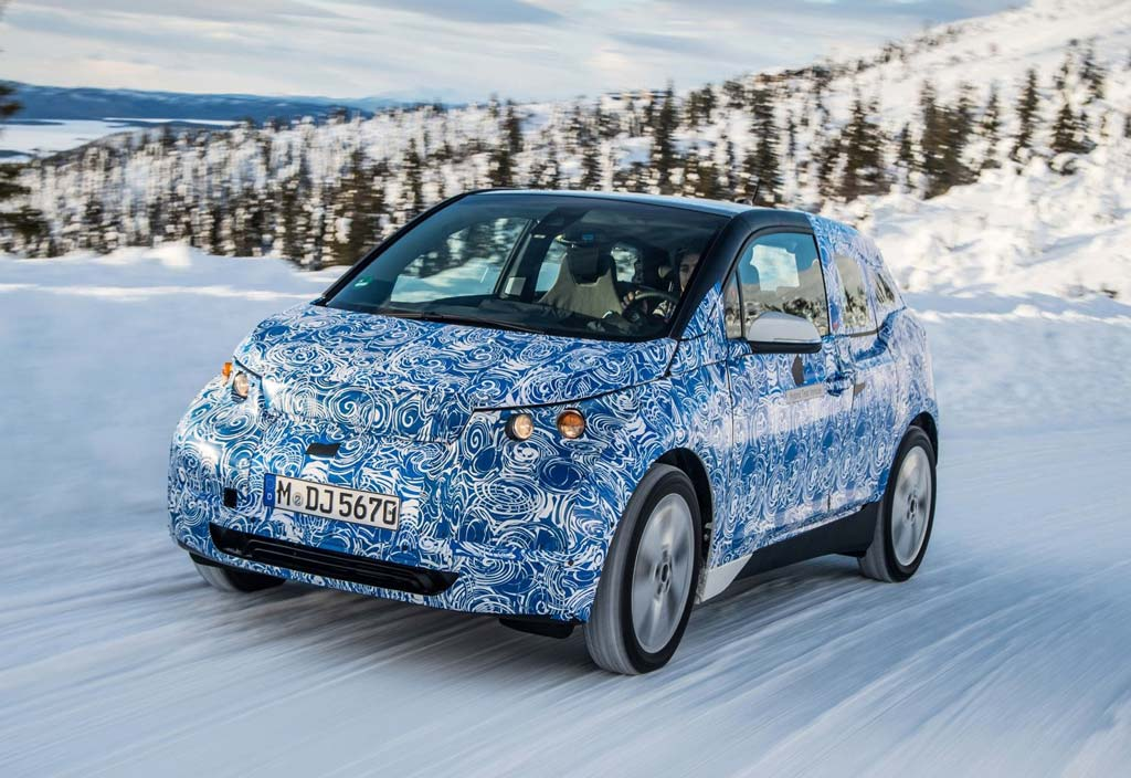 BMW i3 - Wintertests Schweden