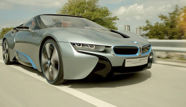 BMW i8 Video Miami