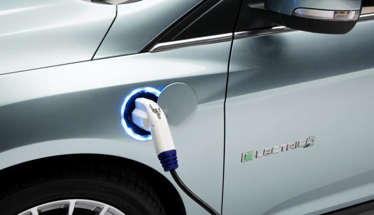 Ford Focus Electric Aufladen