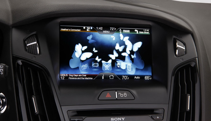 Ford Focus Electric Schmetterlinge Effizienz