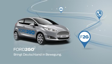 Ford2Go carsharing