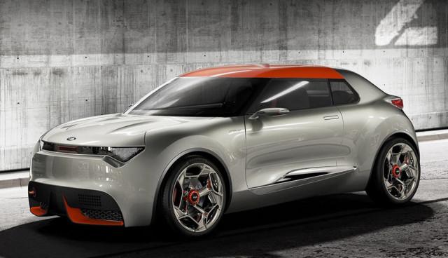 Kia Provo Hybrid Concept Front