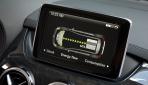 Mercedes B-Klasse Electric Drive Anzeige