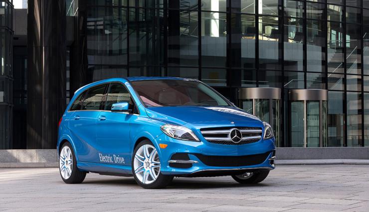 Mercedes B-Klasse Electric Drive Front
