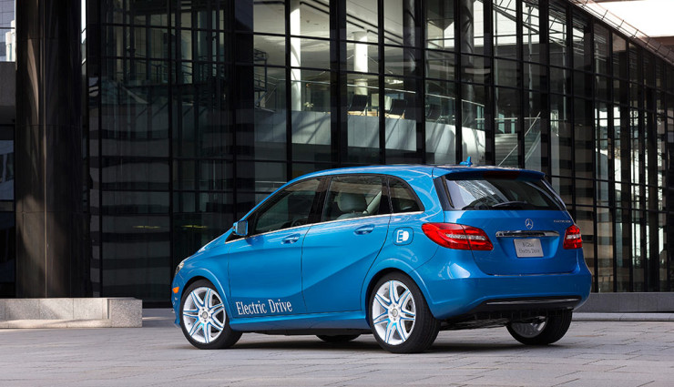 Mercedes B-Klasse Electric Drive Heck 2