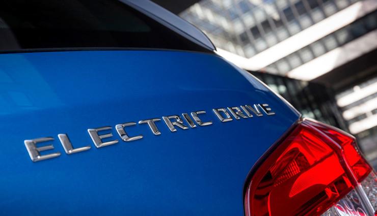 Mercedes B-Klasse Electric Drive Heck