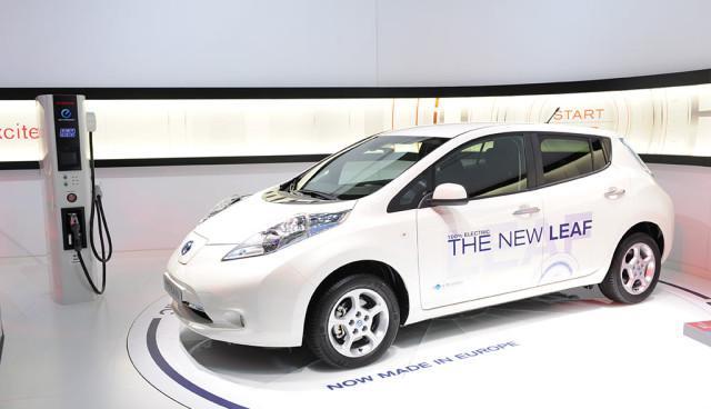 Nissan Leaf 2013 mehr Reichweite
