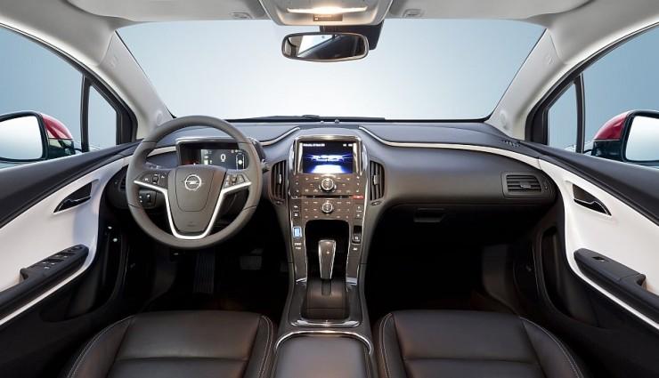 Opel Ampera Cockpit