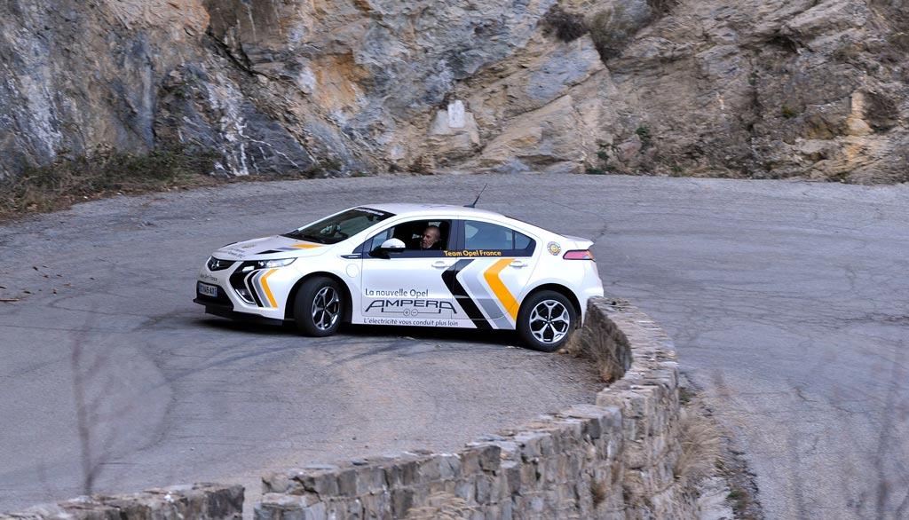 Opel Ampera Rallye Monte Carlo