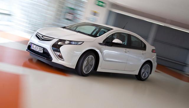 Opel Ampera sparsamer