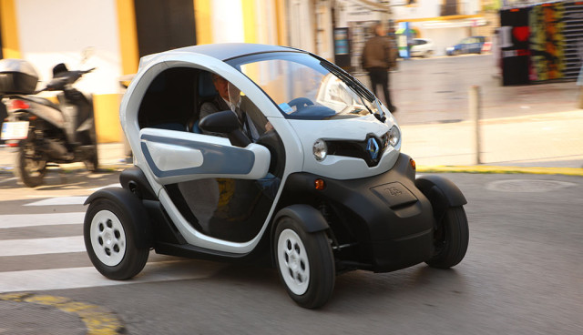 Renault Twizy mieten Twizy2Go