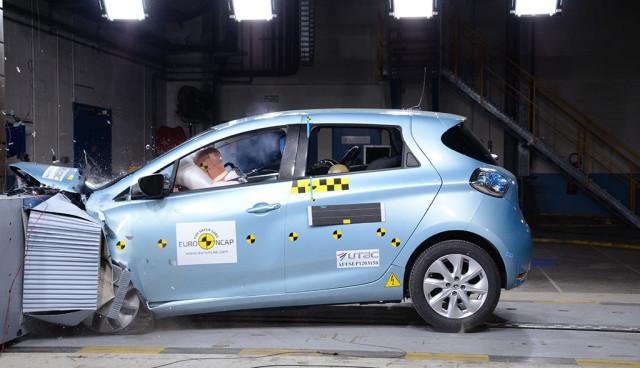 Renault ZOE Crashtest