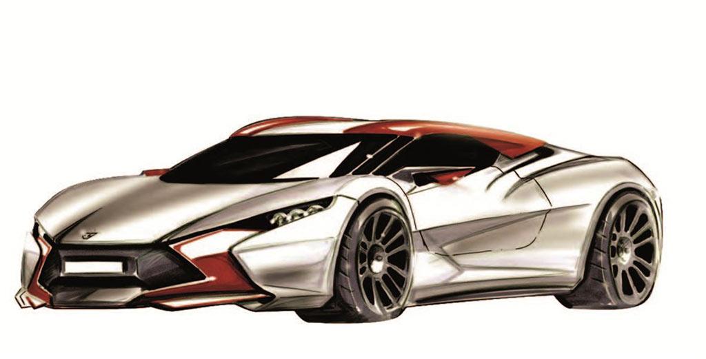 Sbarro Réact'EV Hybrid
