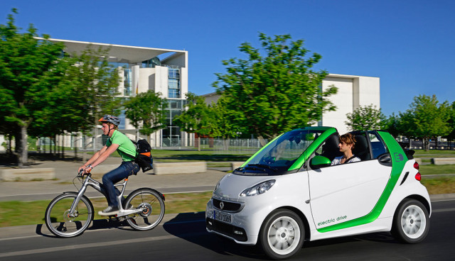 Smart electric drive Verkaeufe