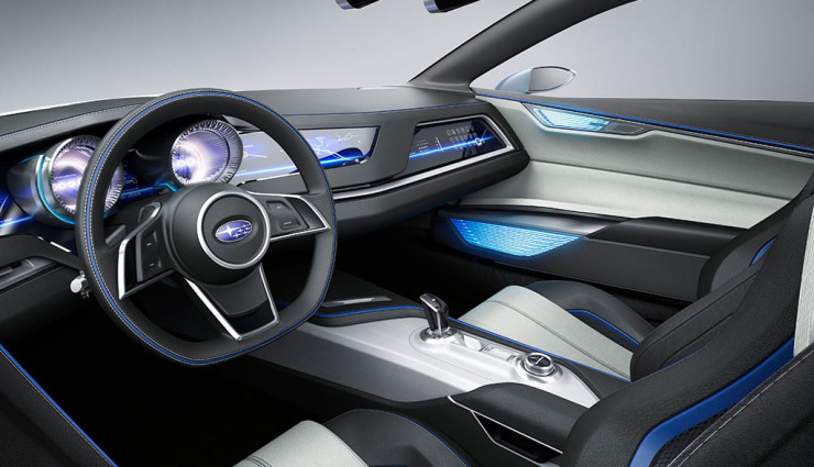 Subaru Diesel-Hybrid-Concept Viziv Cockpit