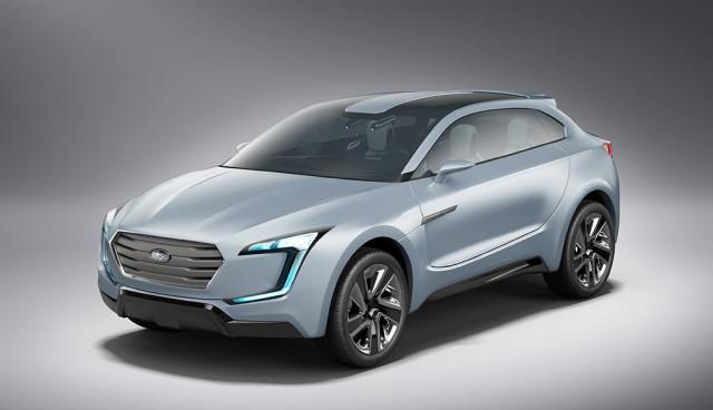 Subaru Diesel-Hybrid-Concept Viziv Front 2