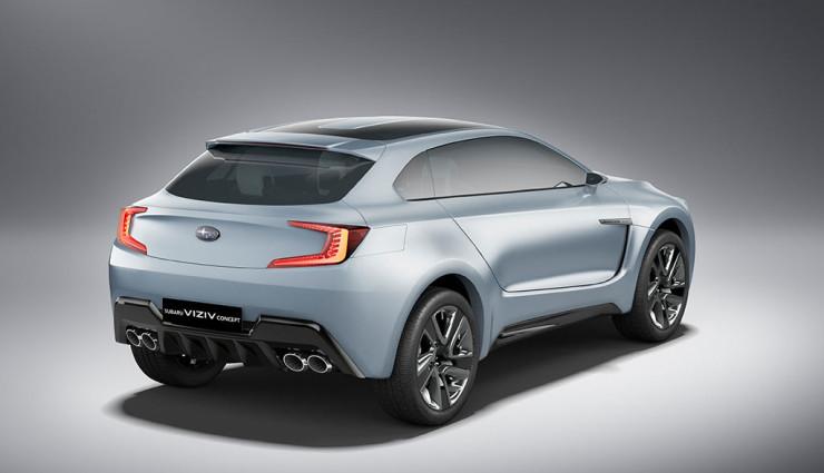 Subaru Diesel-Hybrid-Concept Viziv Heck 2