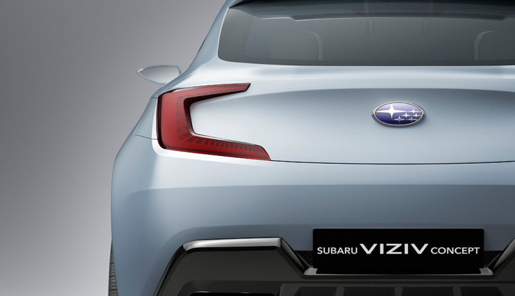Subaru Diesel-Hybrid-Concept Viziv Heck
