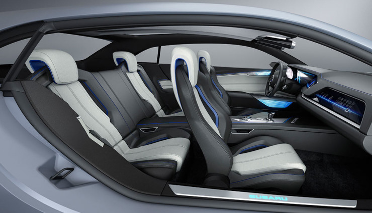 Subaru Diesel-Hybrid-Concept Viziv Innenraum