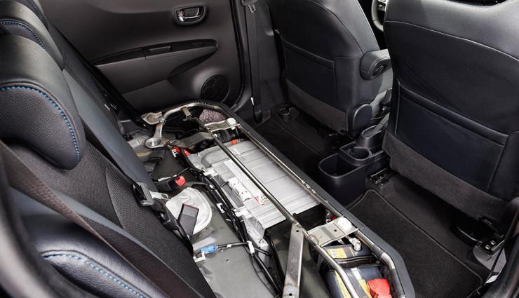 Toyota Yaris Hybrid Elektroantrieb