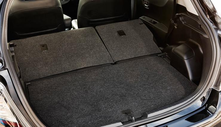 Toyota Yaris Hybrid Kofferraum