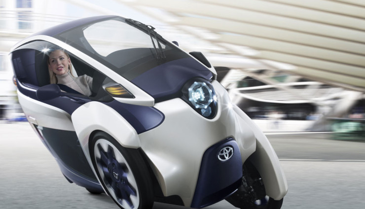 Toyota i-Road Front