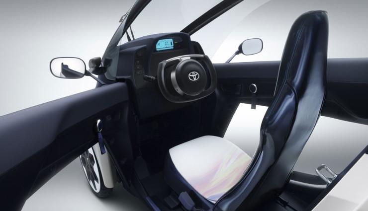 Toyota i-Road Innen