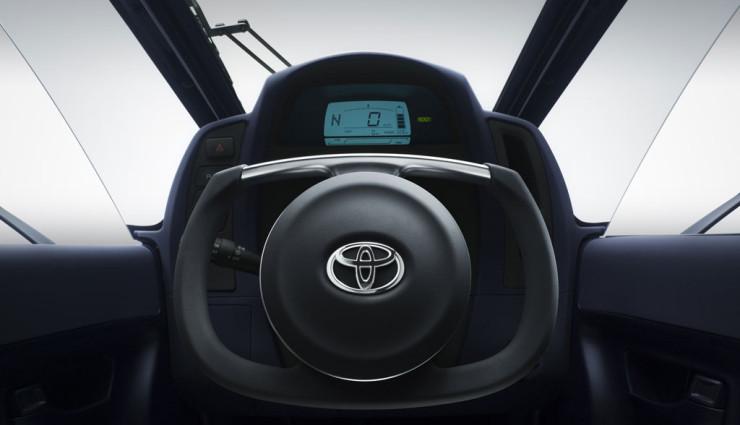 Toyota i-Road Lenkrad