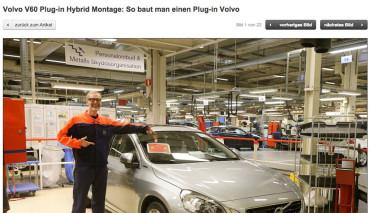 Volvo V60 Hybrid - Montage auto motor und sport