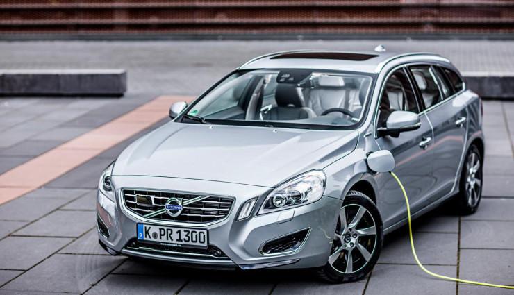 Volvo V60 Plug-in-Hybrid Front