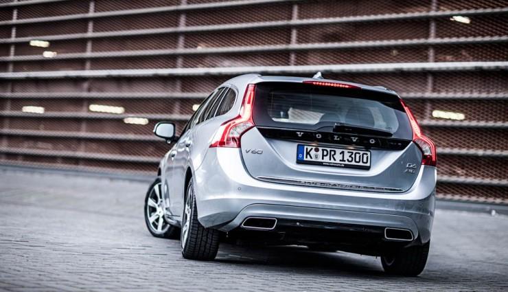 Volvo V60 Plug-in-Hybrid Heck