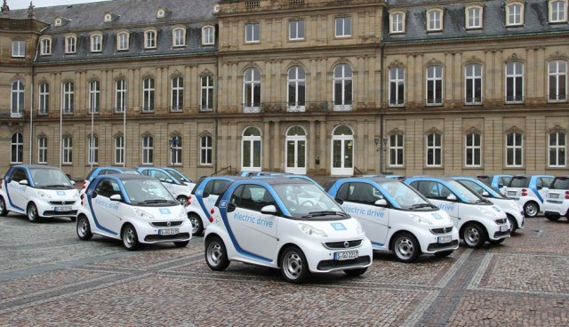 car2go baut Flotte aus, Stuttgart