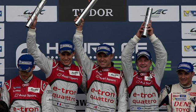Audis Hybrid-Supersportwagen dominieren auch in Silverstone