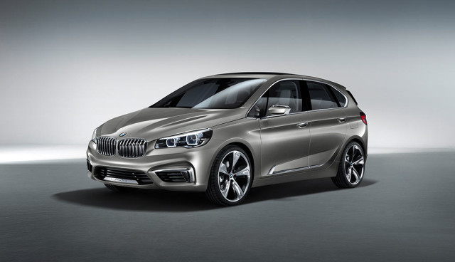 BMW Active Tourer Front 3