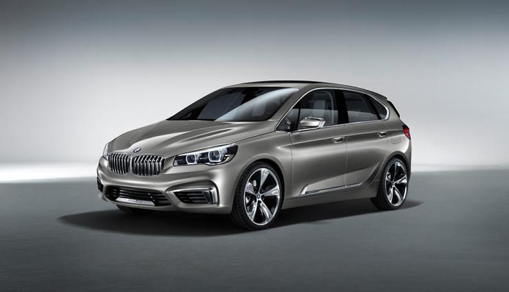 BMW Active Tourer Front 3
