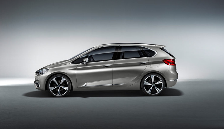 BMW Active Tourer Seite