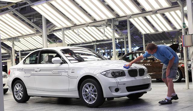 BMW ActiveE fuer das Bayerische Umweltministerium