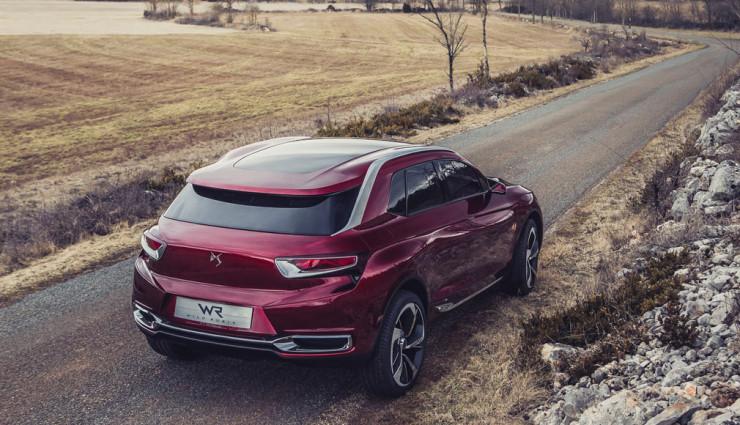Citroën: DS Wild Rubis Heck