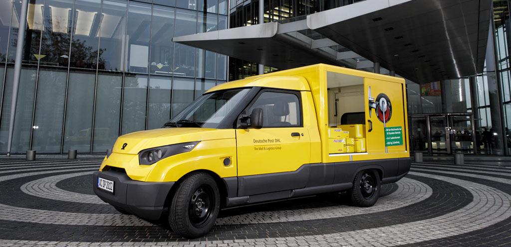Deutsche Post Elektroauto StreetScooter